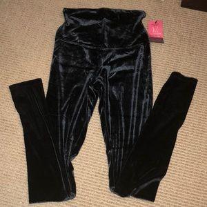 Yummie Tummie velvet shape leggings